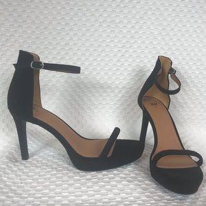H&M ankle strap dressy stiletto strappy heel